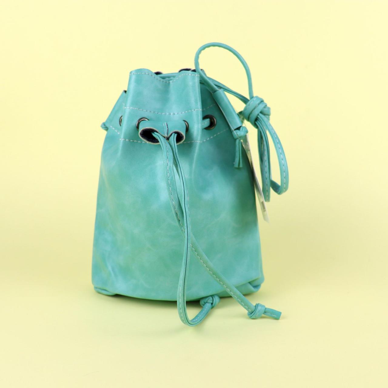 13 Модная яркая сумочка для девочек 1 отделение застежка-завязка длинная ручка 22-19-6 см