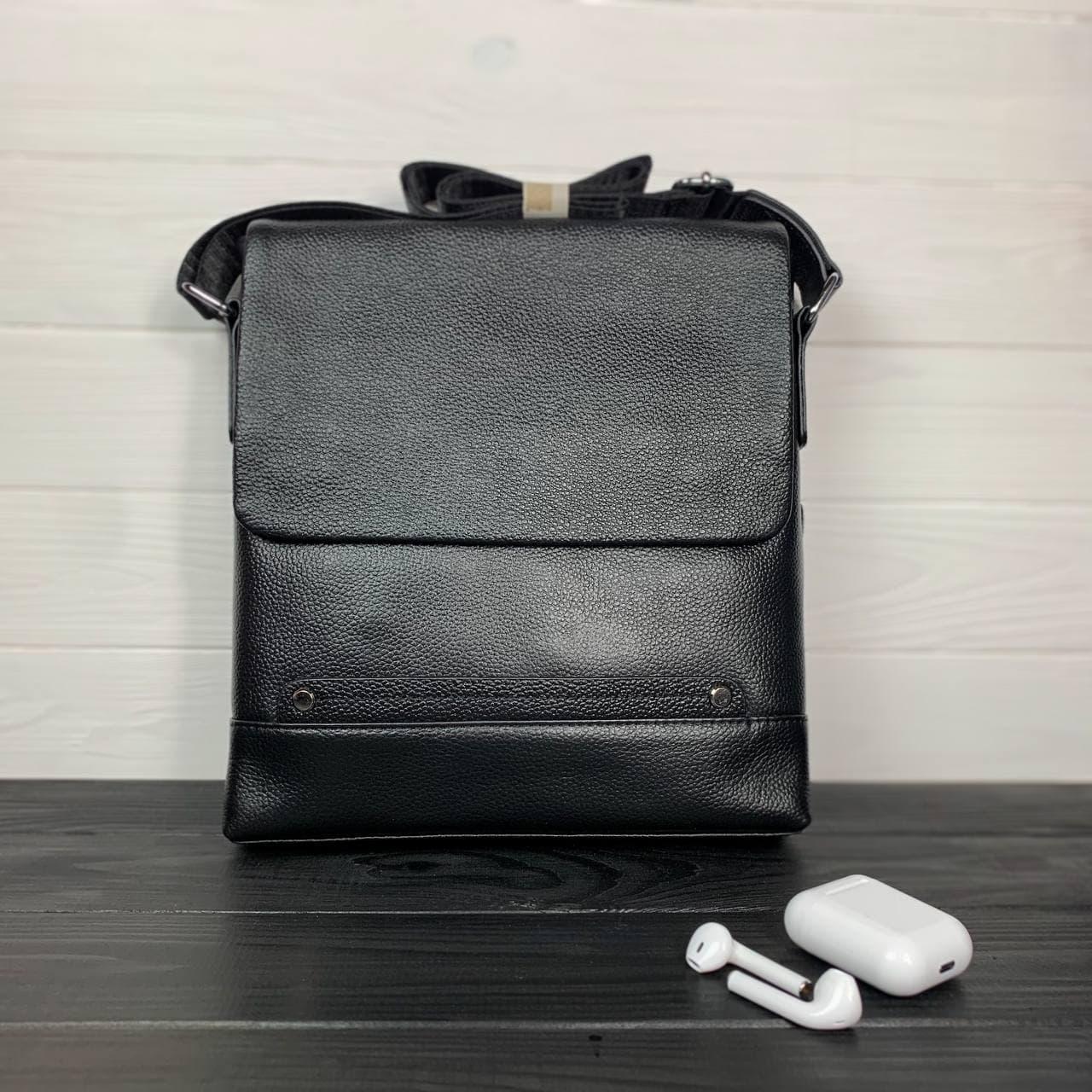Сумка через плече чоловіча шкіряна Tiding Bag C925-0A