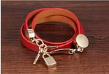 Женский кожаный браслет DeParis KEY & LOCK, фото 5