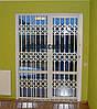 Решетка раздвижная на дверь Шир.1300*Выс.2200мм для офисов, фото 10