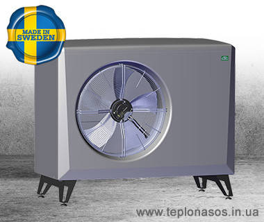 Воздушный тепловой насос EcoAir510 Инверторный  от 2 - 10 кВт, фото 2