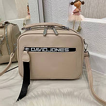 Женская сумка David бежевая СДП4