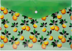Папка-конверт А4 Buromax Lemons BM.3955-15