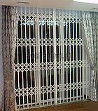 Решетки раздвижные на двери Шир.1450*Выс2100мм для дома, фото 3