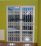 Решетки раздвижные на двери Шир.1450*Выс2100мм для дома, фото 7
