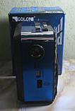 Радіо акумуляторне з USB, SD та ліхтариком Golon RX-9122 (синє), фото 2