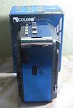 Радіо акумуляторне з USB, SD та ліхтариком Golon RX-9122 (синє), фото 3