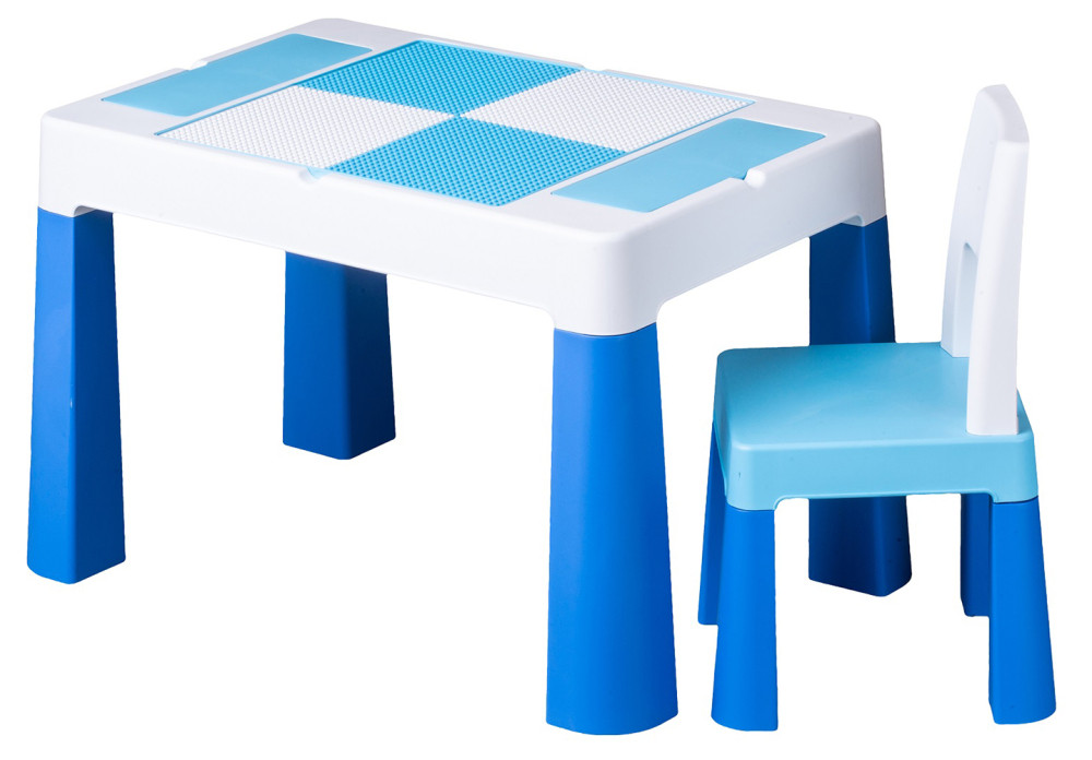 Стіл і стілець Tega Multifun Eco MF-004 120 blue