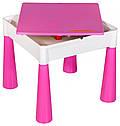 Стіл та 2 стільчика Tega Mamut 899P dark pink / white, фото 4