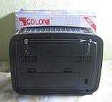 Радіоприймач Golon RX-455S з USB і сонячної зарядкою (червоний), фото 3