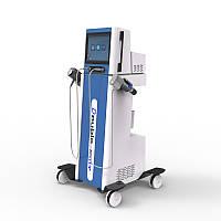 Фізіотерапевтичний ударно-хвильової пневматичний комбінований двоканальний апарат для полегшення болю