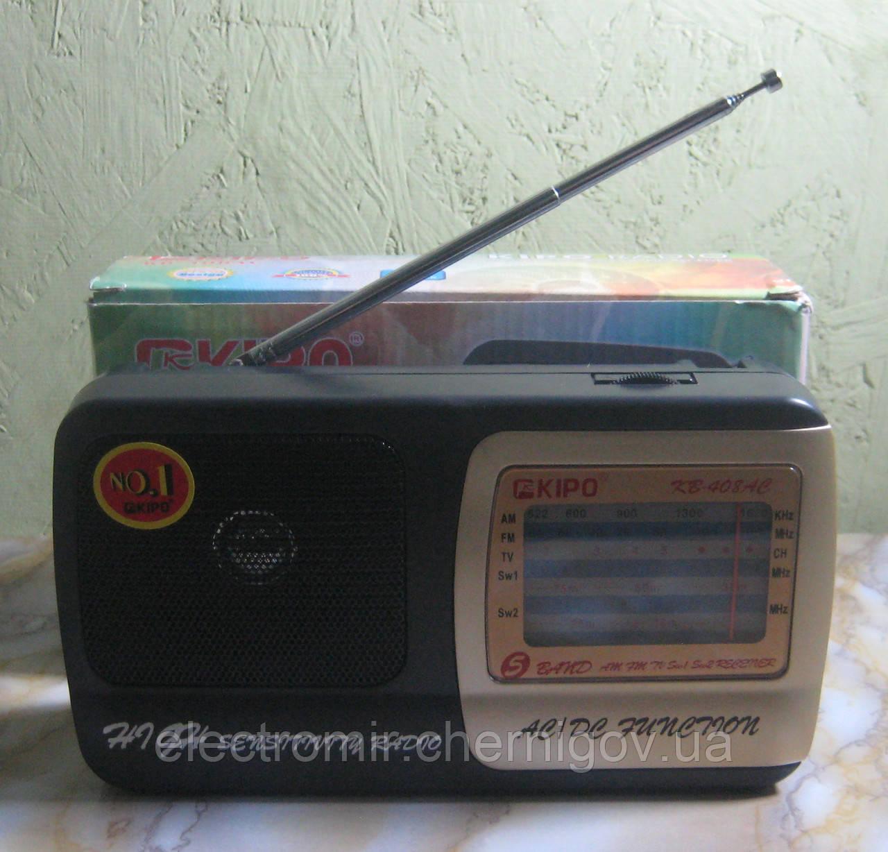 Радіоприймач Kipo KB-408AC