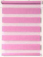Рулонна штора 675*1300 ВН-10 Рожевий, фото 1