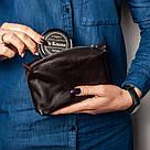 """👞 Набор для чистки обуви кожаный """"Elite"""": мягкая и жесткая щетки, салфетка + 2 крема (черный и бесцветный), фото 5"""
