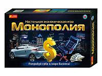 """Економічна гра """"Монополія"""" 10+ 12119001Р(5807)"""