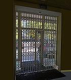 Раздвижная решетка на дверь Шир.4000*Выс2200мм для магазина, фото 8