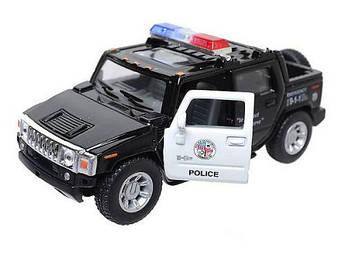 """Машинка KINSMART """"Hummer H2"""" (полиция) KT5097WP"""