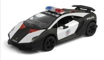 "Машинка KINSMART ""Lamborghini Sesto Elemento"" Полиция"