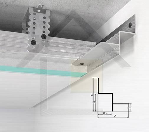 Профіль тіньового шва АСТ20, фото 2