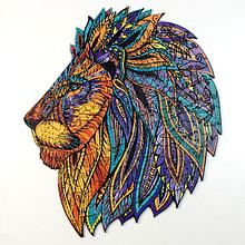 Деревянный пазл Легенда Льва