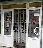 Раздвижная решетка на дверь Шир.1255*Выс2200мм для офиса, фото 6