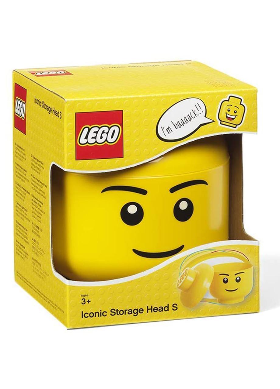 Контейнер для іграшок Lego Маленький хлопчик 4031 жовтий (H1-770285)