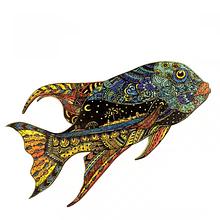 Дерев'яний пазл Плітки світської Рибиці