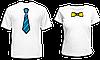 """Парные футболки """"Галстук и Бантик"""""""