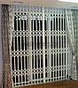 Раздвижная решетка на дверь Шир.1400*Выс.2200мм для магазина, фото 5