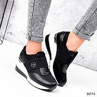 Кроссовки женские Fabia черные 3071, фото 1