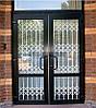 Раздвижная решетка на дверь Шир.1400*Выс.2200мм для магазина, фото 10