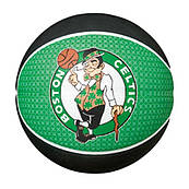 Мяч баскетбольный резиновый для улицы зеленый