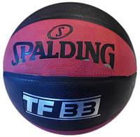 Мяч баскетбольный для детей резиновый Spalding