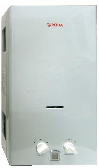 Газовые проточные водонагреватели (газовые колонки) RODA (Рода)  JSD20-A1  JSD20-A2