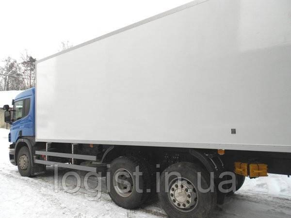 Перевезення по Волинській області ізотермічними фургонами