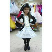 Карнавальный костюм для девочки Пиратка - стиль