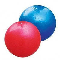 Фитбол 55 см голубой