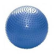Мяч для фитнеса массажный с шипами 65 см синий