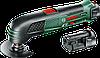 Инструмент многофункциональный Bosch PMF 10,8 LI (2 акк.) 0603101926