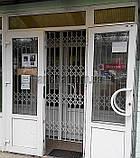 Раздвижная решетка на дверь Шир.2180*Выс2800мм для салона красоты, фото 6
