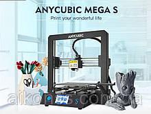 3D принтер ANYCUBIC i3 Mega Mega-S . Остання нова версія . В Наявності .