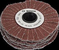 Валик гибкий шлифовальный Bosch 15мм, зернистость 120 1600A00155