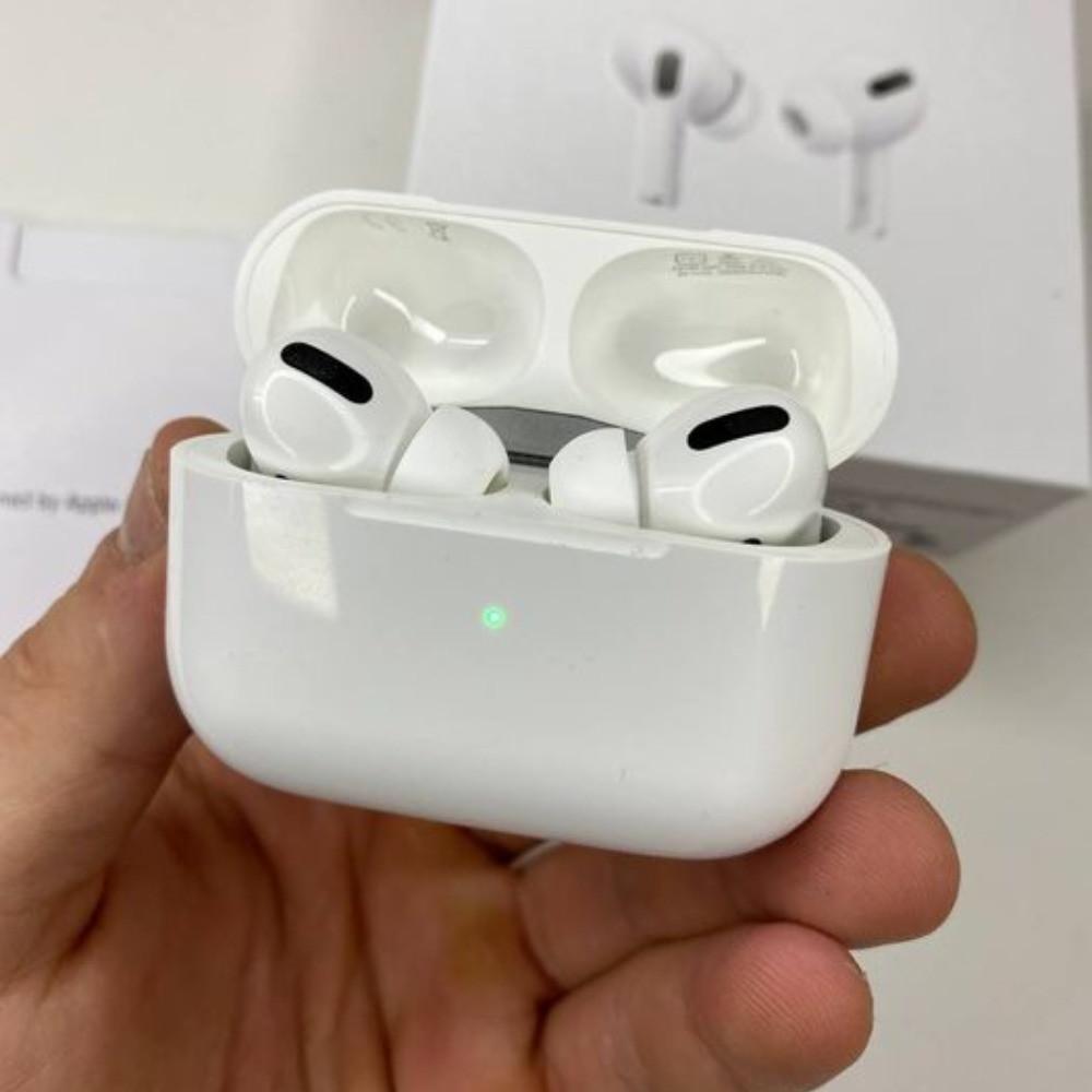 Навушники AirPods Pro бездротові люкс копія   Аирподсы Про білі з шумозаглушенням Люкс