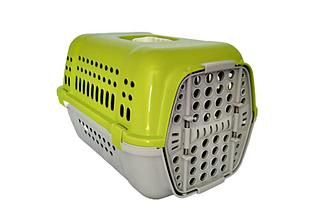 Переноска Animall Р 990 для кошек и собак 49х35х32.5 см салатовая