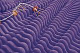 Двуспальный комплект постельного белья зима-лето Фиолетовый с плюшем, фото 6