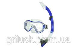 Набор для плавания маска с трубкой Zelart