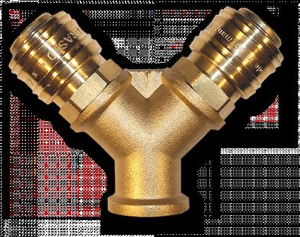 """ESSK Двойник с коннекторами РВ 3/8"""", GK1372"""