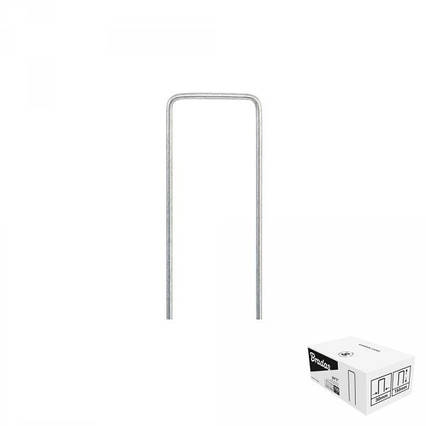 """Шпилька оцинкованная, металлическая, 3/15  см, 100 шт, """"U"""", ATSMGU1315/100BOX"""