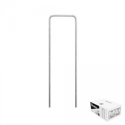"""Шпилька оцинкованная, металлическая, 3/20  см, 100 шт, """"U"""", ATSMGU1320/100BOX"""