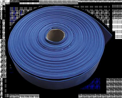 """Шланг AGRO-FLAT W. P. 2, 4"""", 50 м, BLUE, WAF2B400050"""